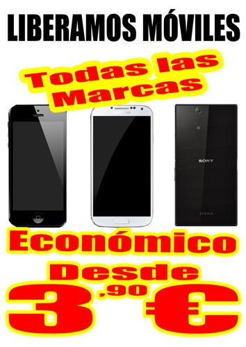 Liberación del 99% de los móviles del mercado...